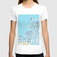 seoul T-shirts featuring Palace—Changdeokgung, Seoul by spreadtoes