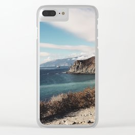 Aqua Coast Clear iPhone Case