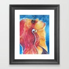 iPod Framed Art Print