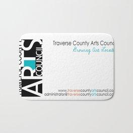 Fundraiser:  Traverse County Arts Council Bath Mat
