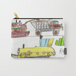 Construction Frenzy Carry-All Pouch