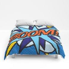 Comic Book BOOM! Comforters
