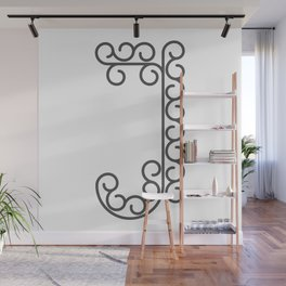 "Letter ""J"" in beautiful design Fashion Modern Style Wall Mural"