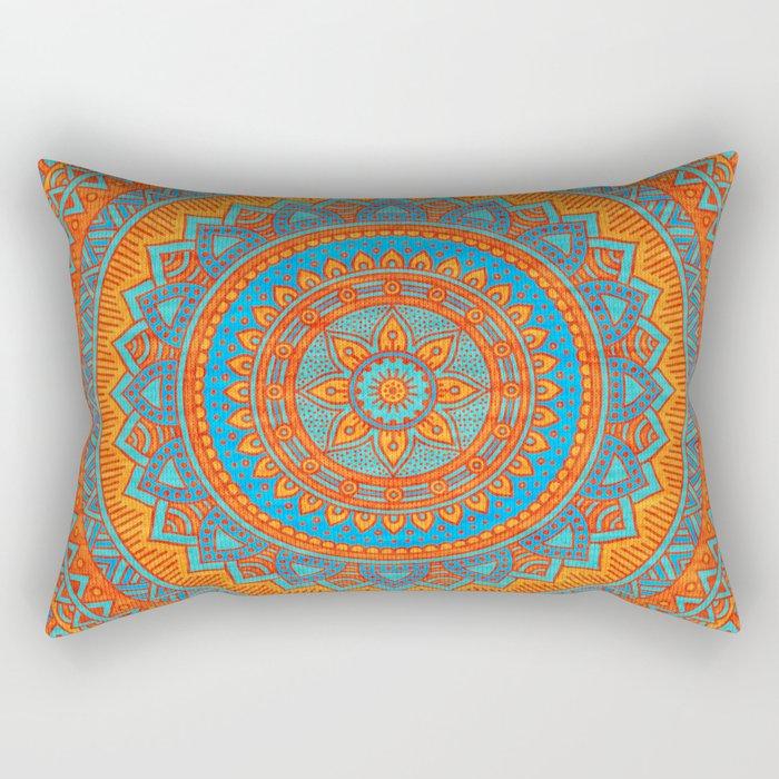 Hippie mandala 66 Rectangular Pillow