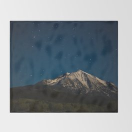 Mount Sopris & The Stars Throw Blanket