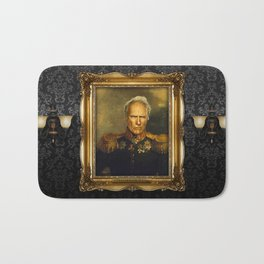 Clint Eastwood - replaceface Bath Mat