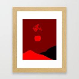 Hang Glider Framed Art Print