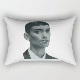 Androginy for dummies #1 Rectangular Pillow
