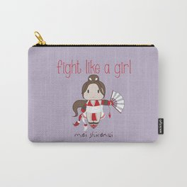 Fight Like a Girl - Mai Shiranui Carry-All Pouch