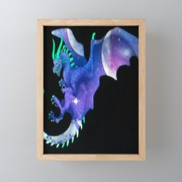 Flying Dragon Framed Mini Art Print
