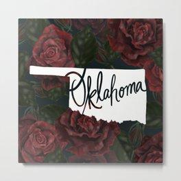 Oklahoma - Roses Metal Print