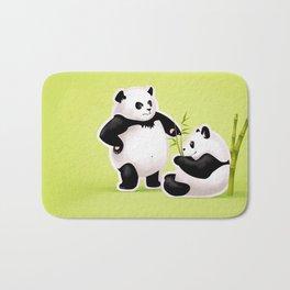 Panda Couple Bath Mat