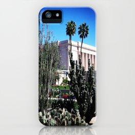 Mesa AZ Temple iPhone Case