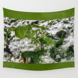 Snow & Ivy Wall Tapestry
