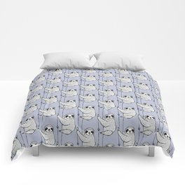 periwinkle does it - sloth Comforters
