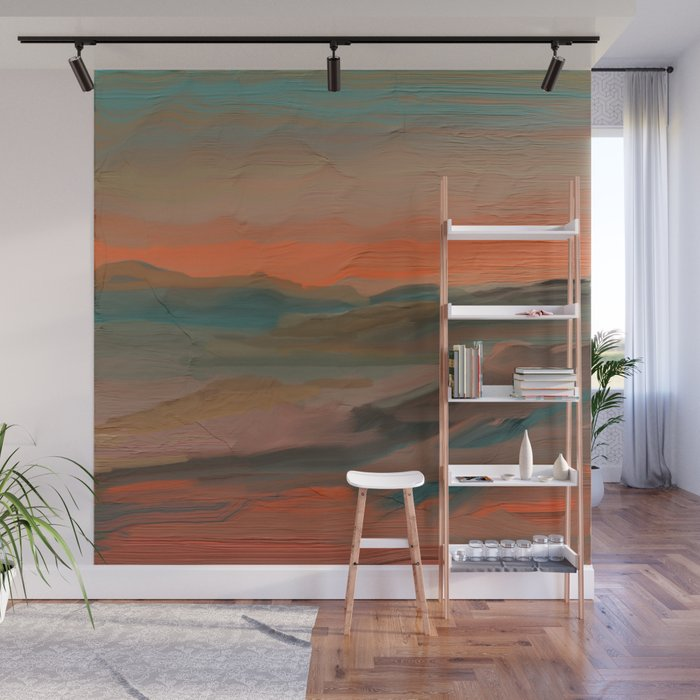 Southwestern Sunset Wall Mural