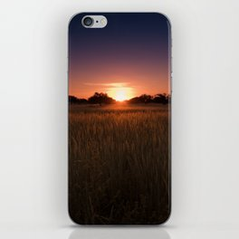 African Kalahari Sunset - Landscape Photography #Society6 iPhone Skin