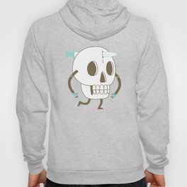As I Skate through the Valley of Death Hoody