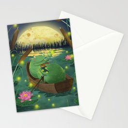 Frog love Stationery Cards