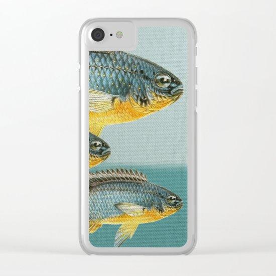 Fish Classic Designs 12 Clear iPhone Case