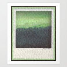 Spring Storm- High Olympics Art Print