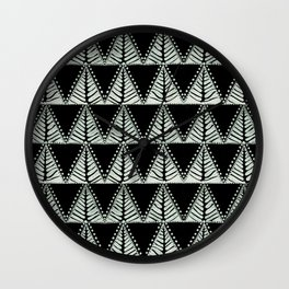 Fir Wall Clock