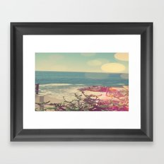 Beach Photography Framed Art Print