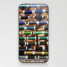 Thread samples in Paris iPhone & iPod Skin