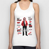 stiles Tank Tops featuring Stiles Stilinski Quotes Teen Wolf by Alice Wieckowska