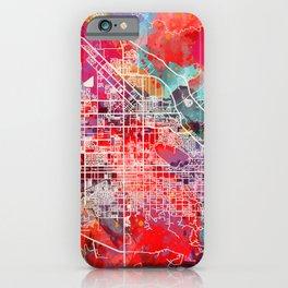 San Jacinto map California CA 2 iPhone Case