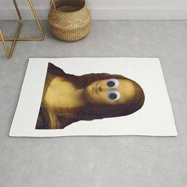 Mona Lisa is Watching You Rug