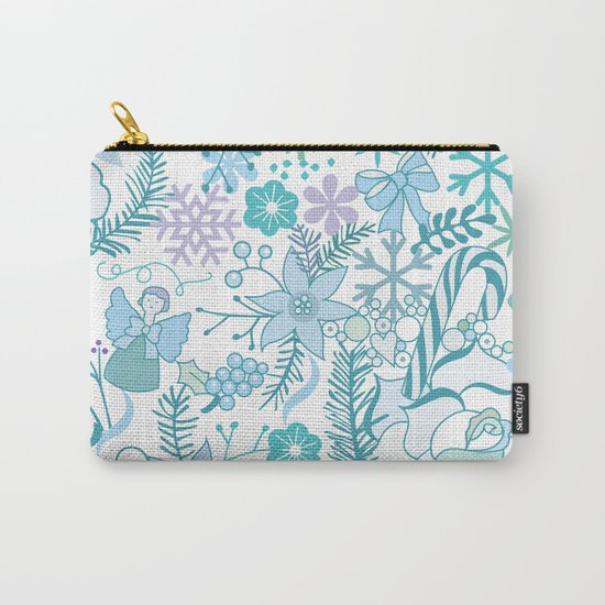 Bright xmas pattern Carry-All Pouch