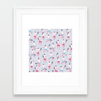tennis Framed Art Prints featuring Tennis by Sara Maese