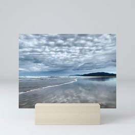 Cloud Reflection on the Oregon Coast Mini Art Print