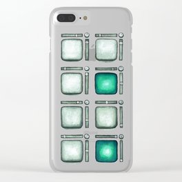 Pad Controller in Emerald Clear iPhone Case