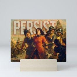 Persist. Mini Art Print