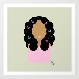 Solo // Don't Touch My Hair Art Print