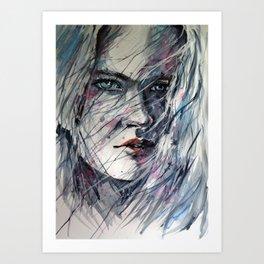 Summer winds Art Print
