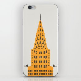 Chrysler Building New York iPhone Skin