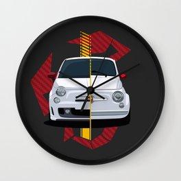 500 Abarth Wall Clock