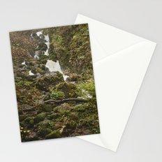 Lodore Falls waterfall after heavy rain. Borrowdale, Cumbria, UK. Stationery Cards