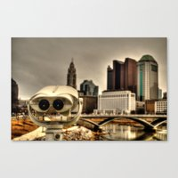 wall e Canvas Prints featuring Wall E? by BradBrunstetter