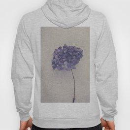 Dried Blue Hydrangea II Hoody