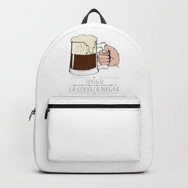 beer beer beeeeeeer & 'la camisa negra' Backpack