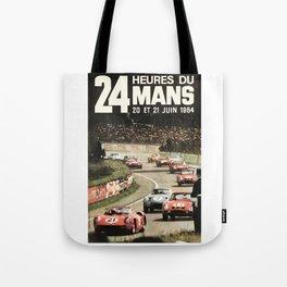Le Mans poster, 1964, 24hs Le Mans, original vintage poster Tote Bag