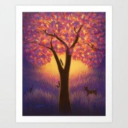 Sanctuary Tree Art Print