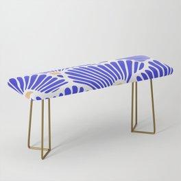 Blue Shell Pattern Bench