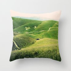 Monte Grappa, North Italy Throw Pillow