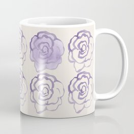 Flowery Day Watercolor Coffee Mug