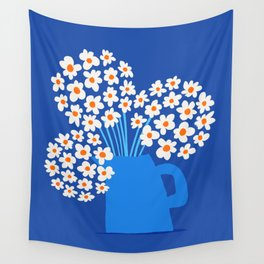Abstraction_FLORAL_Blossom_001 Wall Tapestry